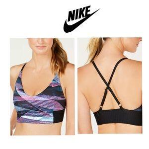 NWT Nike Swim LongLine Midkini Bikini Top SMALL